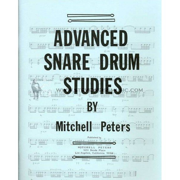 Peters, Mitchell: Advanced Snare Drum Studies