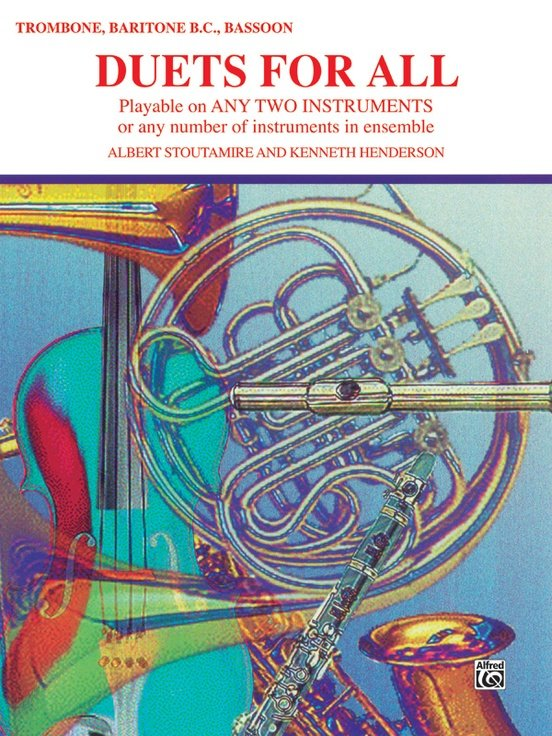 Duets for All: Trombone, Baritone BC, Bassoon Book