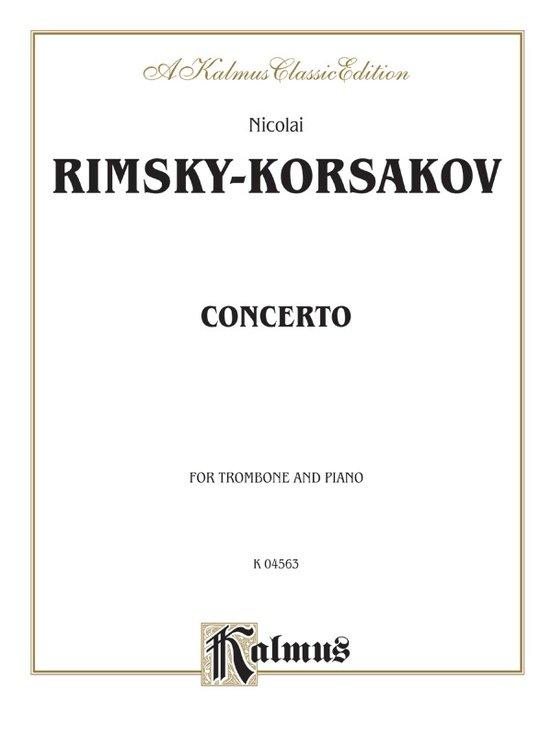 Rimsky-Korsakov, Nicolai: Concerto for Trombone & Piano