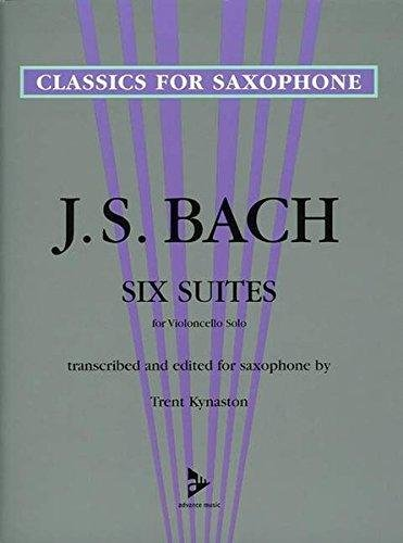 Bach, J.S. (trans. Kynaston): Six Suites for Saxophone