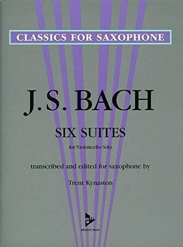 Bach, J.S. (trans. Kynaston): Six Suites for Saxophone
