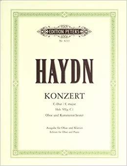 Haydn, Franz Joseph: Concerto in C major for Oboe & Orchestra