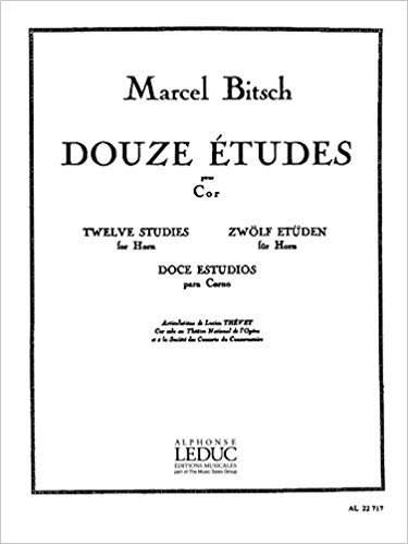 Bitsch, Marcel: Douze Etudes for Horn
