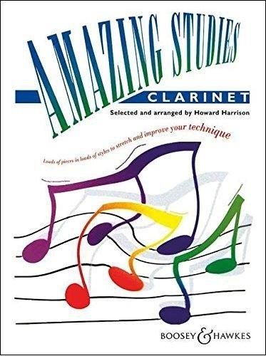Harrison, Howard: Amazing Studies for Clarinet