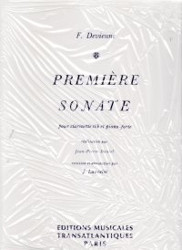 Devienne, Francois: Premiere Sonata in C Minor for Clarinet & Piano