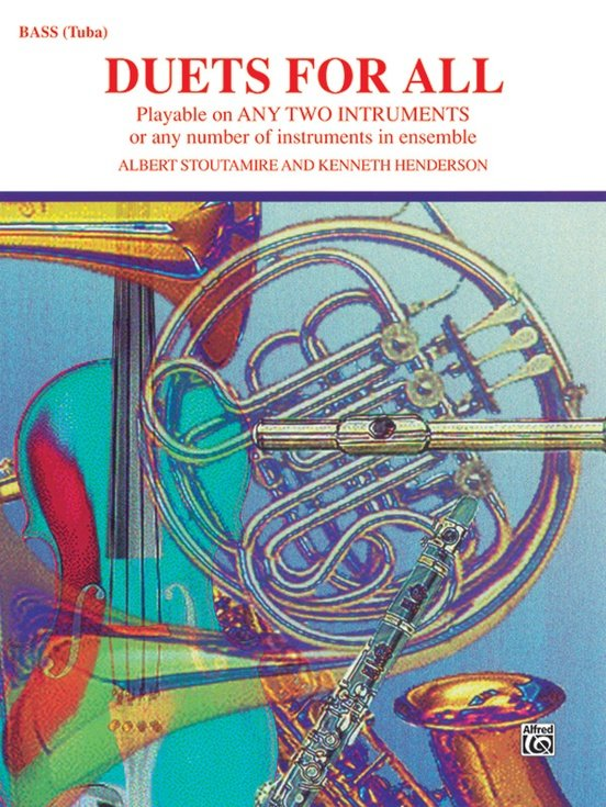 Duets for All: Bass (Tuba) Book