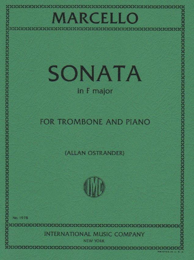 Marcello, Benedetto: Sonata in F major for Trombone & Piano