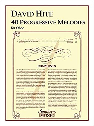 Barret, A.M.R. (ed. Hite): Forty Progressive Melodies for Clarinet