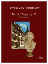 Beethoven, L.V.: Trio in C Major, Op. 87 for Three Clarinets