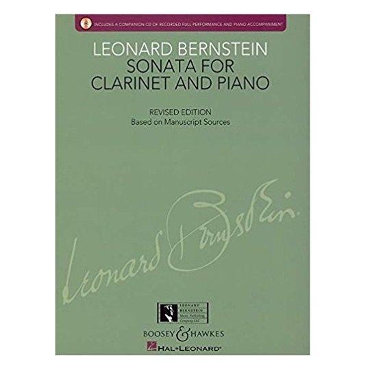 Bernstein, Leonard: Sonata for Clarinet & Piano
