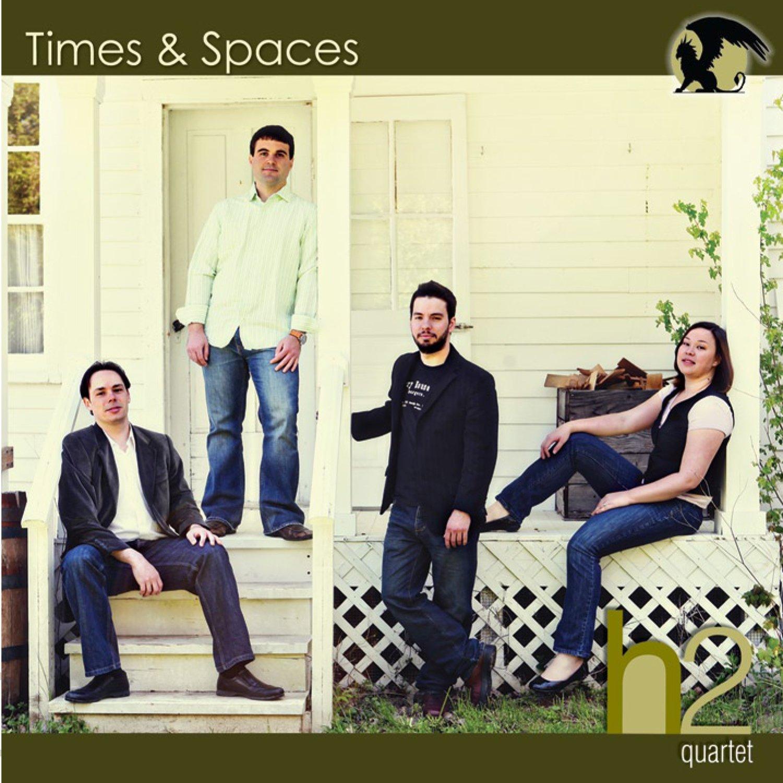 h2 Quartet Times & Spaces CD