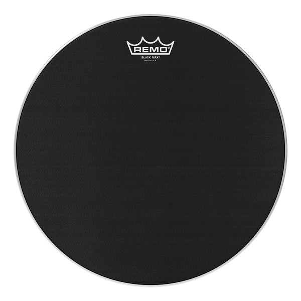 Remo Black Max Marching Snare Drum Heads