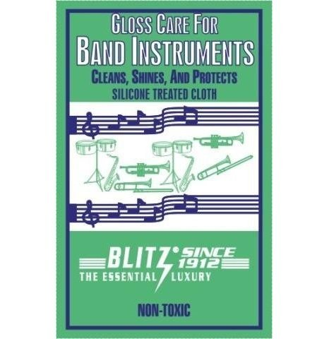 Blitz Gloss Care for Band Instruments Cloth