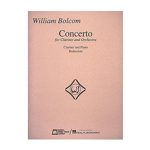 Bolcom, William: Concerto for Clarinet & Orchestra