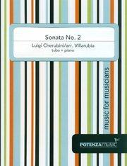 Cherubini, Luigi (arr. Villarubia): Sonata No. 2 for Tuba & Piano