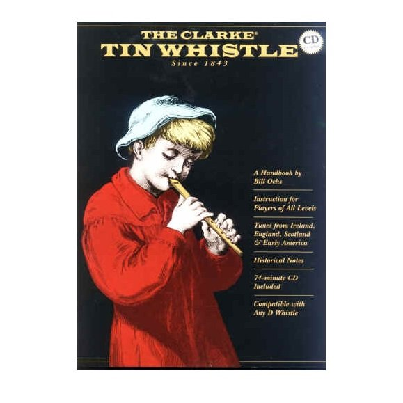 Clarke Tin Whistle Gift Set