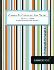 Taylor, Noah: Concerto for Clarinet & Bass Clarinet