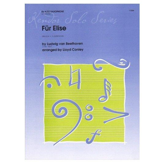 Beethoven (arr. Conley): Fur Elise for Alto Saxophone