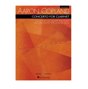 Copland, Aaron: Concerto for Clarinet