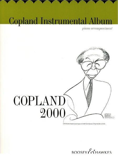Copland, Aaron: Copland 2000 Instrumental Album - Piano Accompaniment