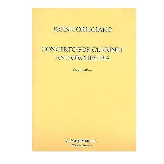 Corigliano, John: Concerto for Clarinet & Orchestra