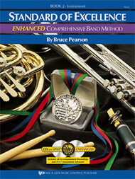 Standard of Excellence Enhanced Comprehensive Band Method Book 2
