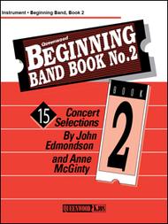 Edmondson, John & McGinty: Beginning Band Book No. 2