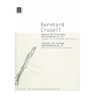 Crusell, Bernhard: Concerto Op. 11 for Clarinet & Orchestra