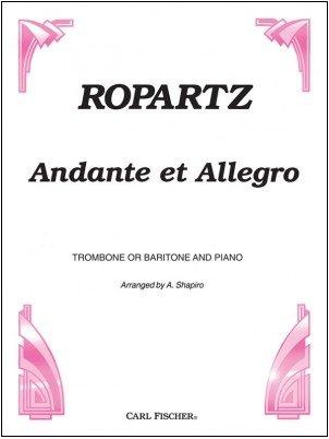 Ropartz, J. (arr. Shapiro): Andante et Allegro for Trombone & Piano