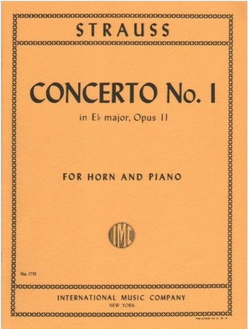 Mozart, W.A.: Concerto No. 3, K.447 for Horn in F & Piano