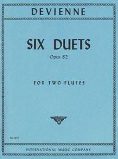 Devienne, Francois: Six Duets Op. 82 for Two Flutes