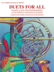 Duets for All - Bb Clarinet/Bass Clarinet Book