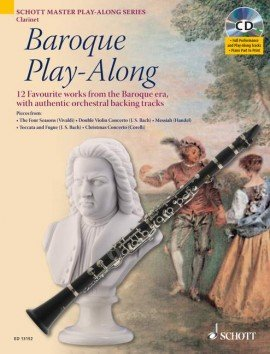 Baroque Play-Along for Clarinet