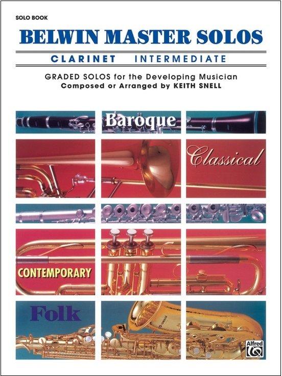 Belwin Master Solos - Clarinet Intermediate