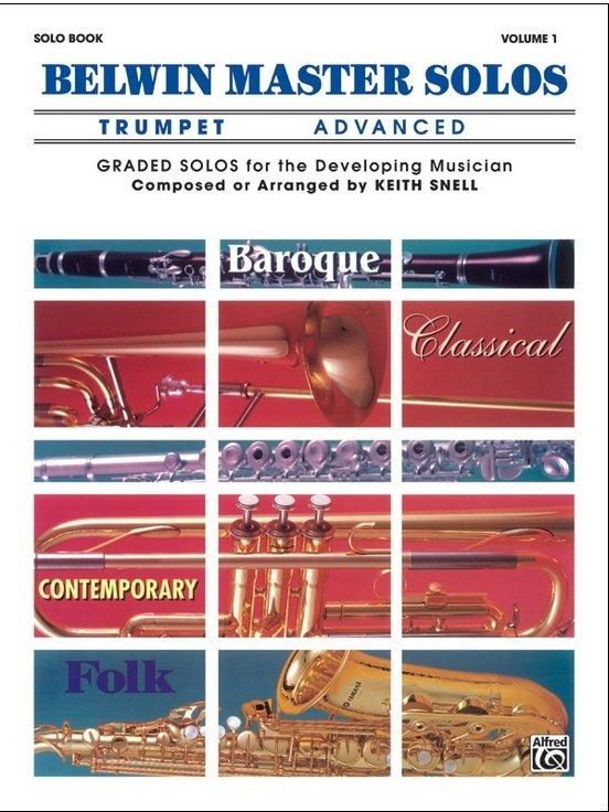 Belwin Master Solos - Trumpet Advanced