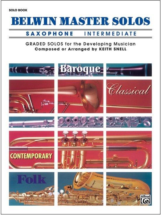 Belwin Master Solos - Saxophone Intermediate