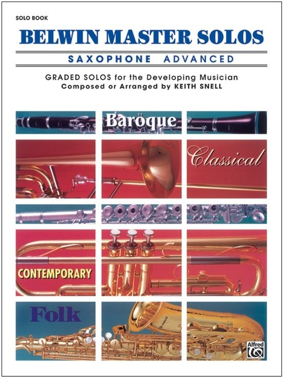 Belwin Master Solos - Saxophone Advanced