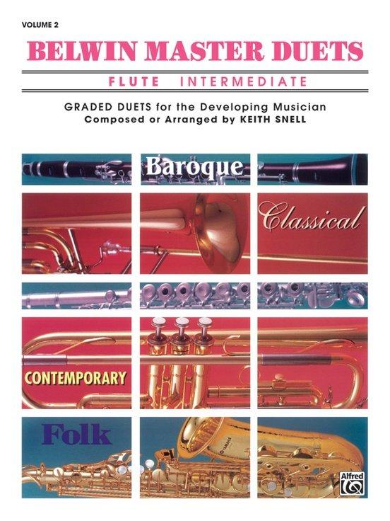 Belwin Master Duets Volume 2 - Flute Intermediate