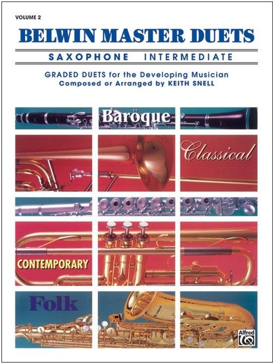 Belwin Master Duets Volume 2 - Saxophone Intermediate