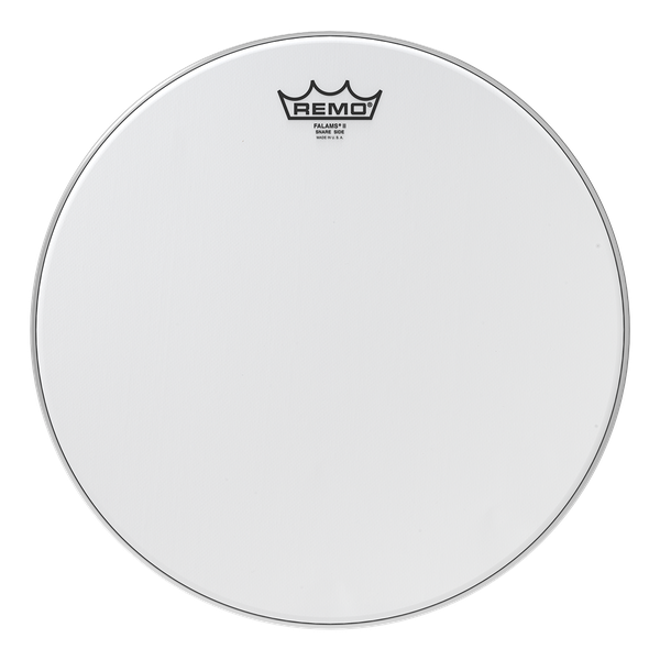 Remo Falams II Smooth White Snare Side Crimped 14-inch Drumhead