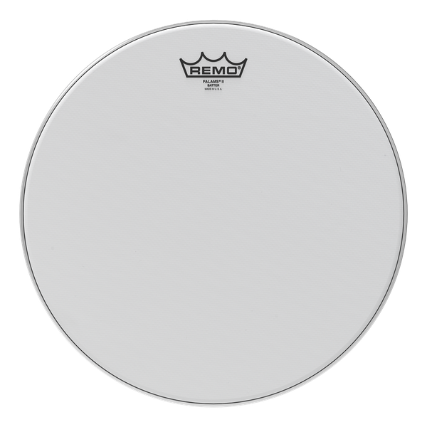 Remo Falams II Smooth White Crimped Batter 14-inch Drumhead