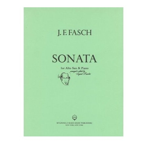 Fasch, J.F.: Sonata for Alto Saxophone & Piano