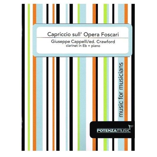 Cappelli, Giuseppe (Crawford): Capriccio sull' Opera Foscari for Eb Clarinet & Piano
