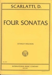 Scarlatti, Domenico (trans. Gedike): Four Sonatas for Clarinet & Piano