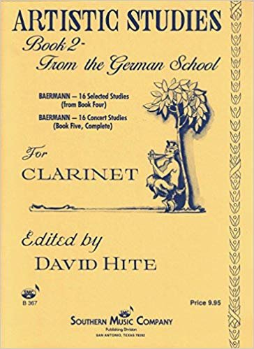 Hite, David: Artistic Studies Book 2 - From the German School