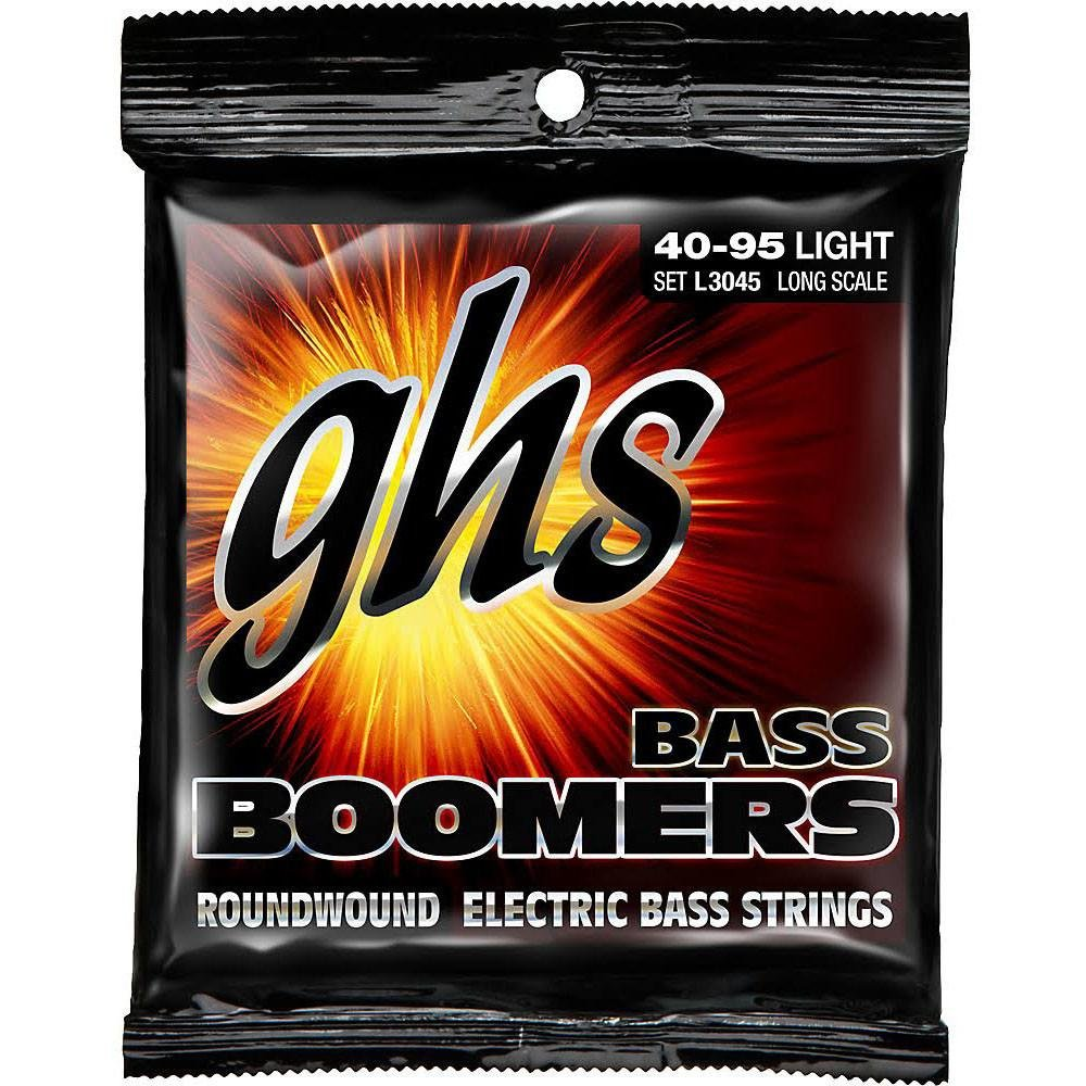 GHS Bass Boomers Roundwound Electric Bass Strings (Light)