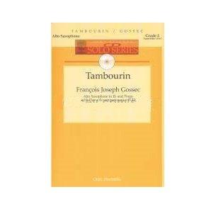 Gossec, Francois Joseph: Tambourin for Alto Saxophone & Piano