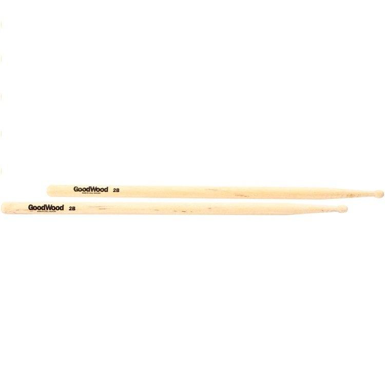 Good Wood 2B Drum Sticks
