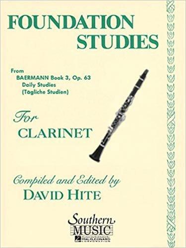Hite, David: Foundation Studies for Clarinet