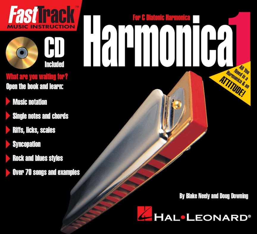 Hohner Bluesband Harmonica with FastTrack Instruction CD
